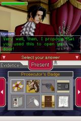 Ace Attorney Investigations: Miles Edgeworth Nintendo DS Time to prove your point... with evidence.