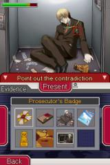 Ace Attorney Investigations: Miles Edgeworth Nintendo DS Is there something odd about the corpse?