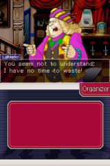 Ace Attorney Investigations: Miles Edgeworth Nintendo DS This foreign art dealer is definitely not going to be very helpful.