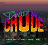 Two Crude Dudes Arcade Title screen (US)