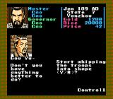 Romance of the Three Kingdoms NES Training your soldiers. General Gou Yu doesn't seem very happy