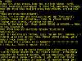 Ucieczka ze Spejs-Szipu ZX Spectrum Standard text screen