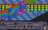 Transputor Atari ST First action with the vertical dimension of the level design