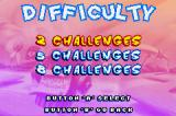 Tiny Toon Adventures: Wacky Stackers Game Boy Advance Puzzle mode has these three difficulty levels