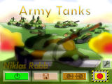 Army Tanks 3 Windows Title screen and main menu