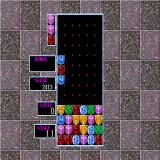 Columns Sharp X68000 Stage mode, take out blinking tile(s) to advance stage