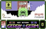 Gerry the Germ Goes Body Poppin' Commodore 64 Title Screen.
