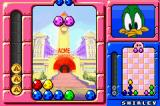 "Tiny Toon Adventures: Wacky Stackers Game Boy Advance Playing against a computer player... be careful of their ""A"" pieces... they can make things difficult with those.  You can do the same to them, of course"