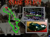 1000 Miglia: Great 1000 Miles Rally Arcade Stage Select.