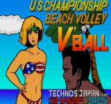 Super Spike V'Ball Sharp X68000 Title screen 2, much more appealing wouldn't you say?