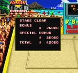 Super Spike V'Ball Sharp X68000 Stage clear score