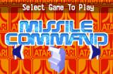Atari: Anniversary Advance Game Boy Advance Missile Command
