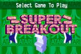 Atari: Anniversary Advance Game Boy Advance Super Breakout