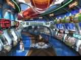 Final Fantasy VIII PlayStation A futuristic shopping mall with a transportation pod