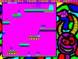 Crapbert Buttslut in the muthafuckin' damn stone-circle of the devil ZX Spectrum Level 24