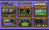 Fun School 4: for the under 5s Commodore 64 Game Option Screen.