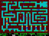 Deadly Labyrinth of Lord Xyrx ZX Spectrum Level 7