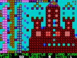 Deadly Labyrinth of Lord Xyrx ZX Spectrum Level 9