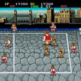 Super Dodge Ball Sharp X68000 Second round is against Team England