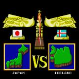 Super Dodge Ball Sharp X68000 On to Iceland