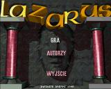 Lazarus Amiga Title screen