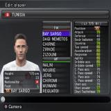 PES 2008: Pro Evolution Soccer PlayStation 2 In Edit mode the player can create a new footballer of modify an existing one. They can also edit teams, boots, logos, stadium names, and both league and cup names