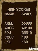 Astral Mobile J2ME High Scores