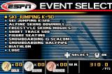 ESPN International Winter Sports 2002 Game Boy Advance The events you can choose from