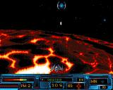 Battle Space Amiga Level 2 spider ships