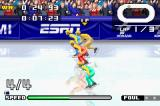 ESPN International Winter Sports 2002 Game Boy Advance The Short Track is a skating race.  How fast can you go?