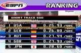 ESPN International Winter Sports 2002 Game Boy Advance Final rankings from an event show you compared to other countries