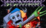 Giganoid Amiga Title screen