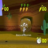 Bugs Bunny: Lost in Time PlayStation The Stone Age level starts with Dinosaur Mountain