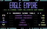 Eagle Empire Commodore 64 Title Screen.