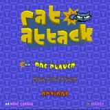 Rat Attack PlayStation The game's menu