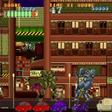 Mad Stalker: Full Metal Force Sharp X68000 Fighting enemy robot