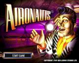 Aironauts PlayStation The game's title screen
