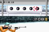 ESPN International Winter Sports 2002 Game Boy Advance The other part of the Biathlon is the shooting range.