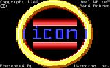 ICON: Quest for the Ring DOS Title Screen