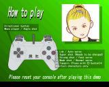Anna Kournikova's Smash Court Tennis PlayStation The controller configuration.