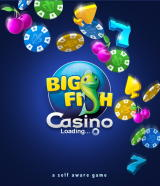 Big Fish Casino Browser Loading screen