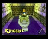 Kingsley's Adventure PlayStation Jumping down this hole takes Kingsley to another game environment