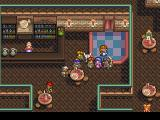 Lunar: Silver Star Story Complete PlayStation Relaxing in a tavern: bartender, dancer, guys sipping beer...