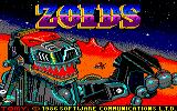 Zoids Amstrad CPC Loading Screen.
