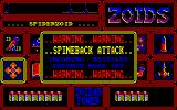 Zoids Amstrad CPC Under attack.