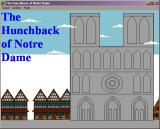 The Hunchback of Notre Dame Windows 3.x Title screen