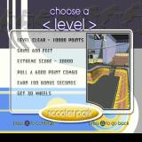 Razor Freestyle Scooter PlayStation Playing the game. These are the objectives needed to clear the first level. The level is timed so scoring extra seconds to increase the time limit is important