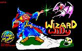 Wizard Willy Amstrad CPC Loading Screen.