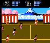 Super Dodge Ball NES Game play (Japanese version)