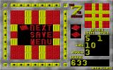 The 7th Square DOS When a puzzle has been solved the player is given the option of saving their game, continuing or abandoning